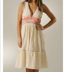 Lauren Moffatt Silk/Cotton Pyramid Dress Size 0